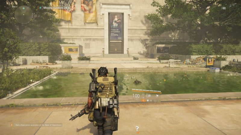 division 2 - missing curators - where to start