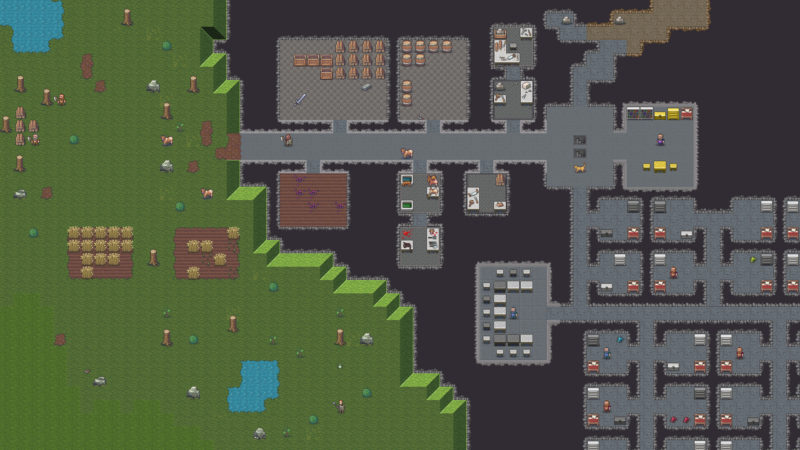 xbox games like dwarf fortress