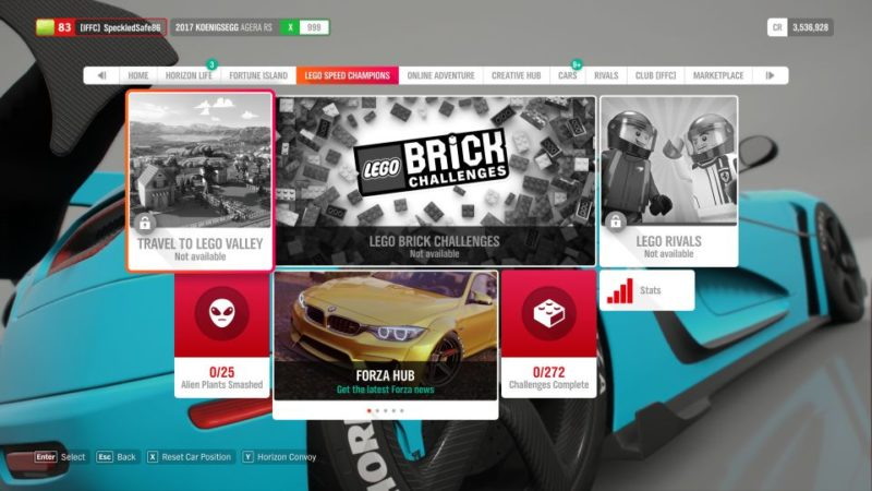 forza horizon 4 how to begin lego dlc