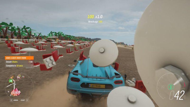 Smash 30 Chairs: Forza Horizon 4 (Lego Speed Champions)