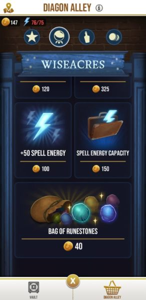 how to get more energy - wizards unite