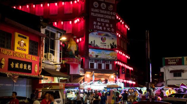 jonker street - things to do in melaka at night