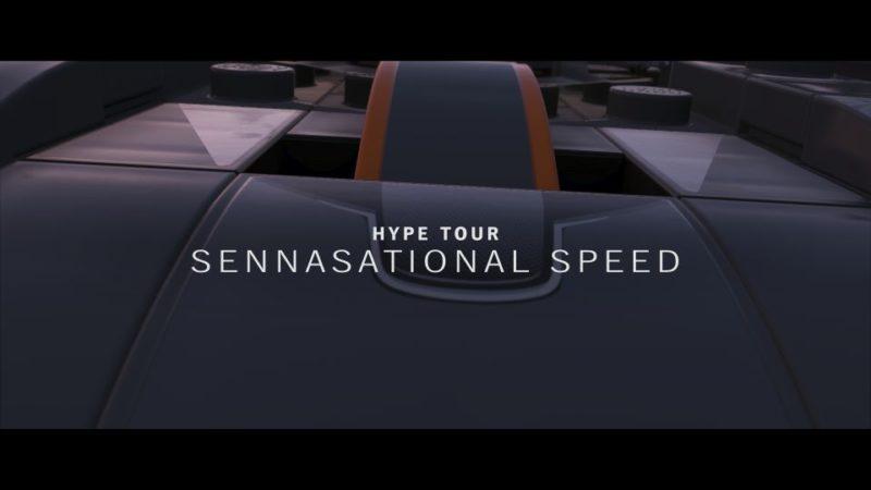 lego speed champions - hype tour
