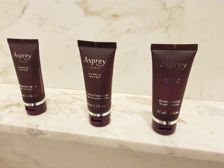 shampoo given by ritz carlton kl