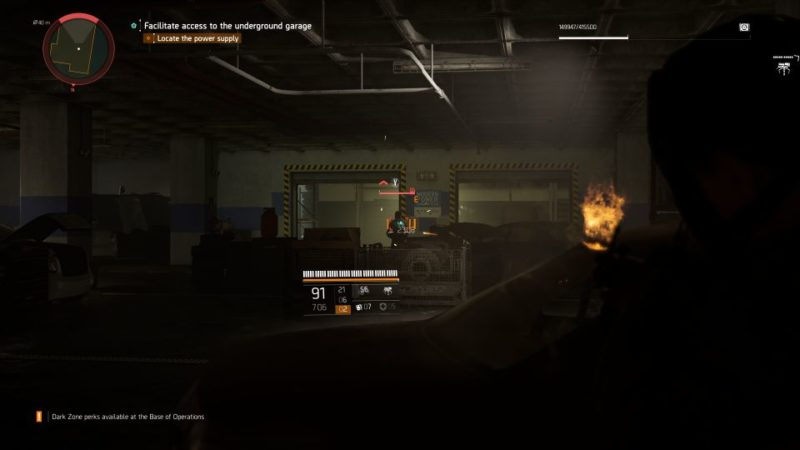 the division 2 - garage stash mission walkthrough