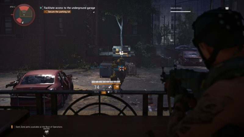 the division 2 - garage stash quest