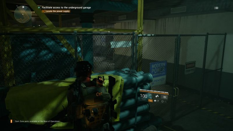 the division 2 - garage stash walkthrough