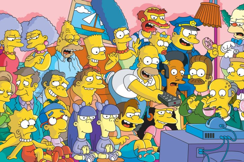 the simpsons - best cartoons of all time