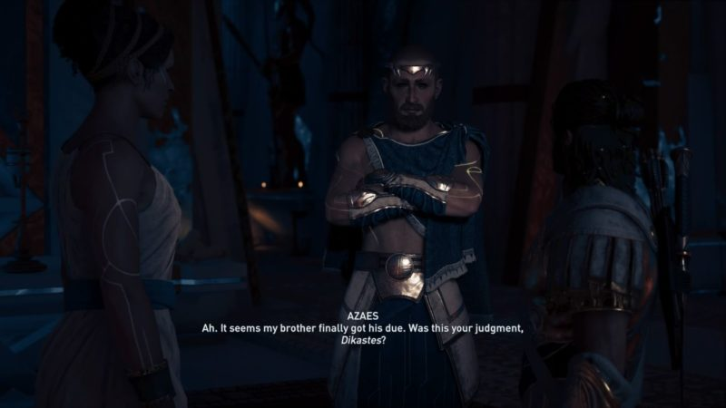 ac odyssey - blood gets in your eyes mission wiki