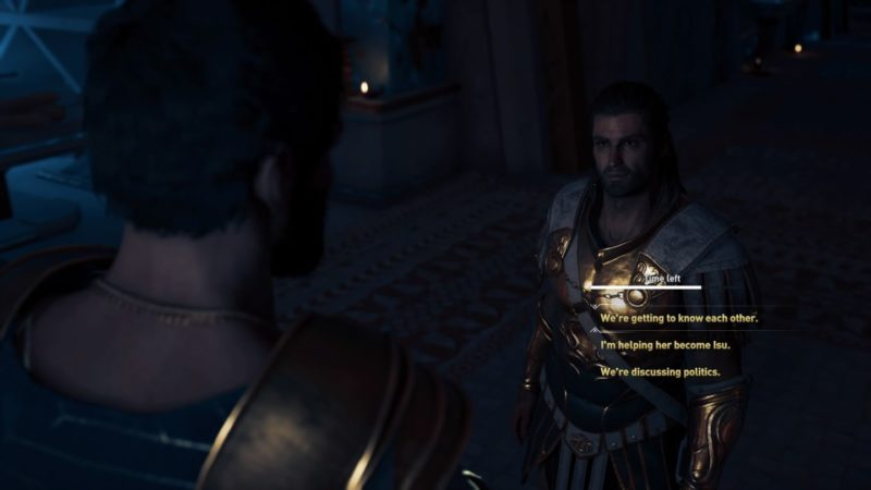 ac odyssey - blood gets in your eyes quest