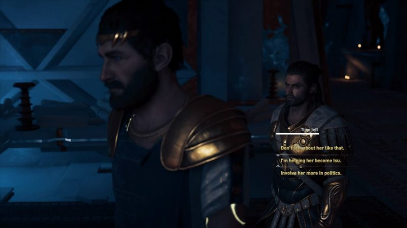 ac odyssey - blood gets in your eyes quest guide