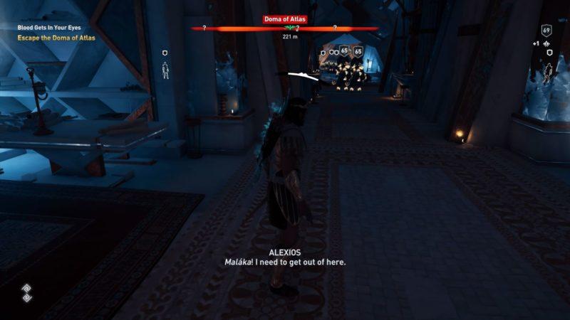 ac odyssey - blood gets in your eyes quest walkthrough