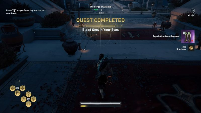 ac odyssey - blood gets in your eyes quest wiki