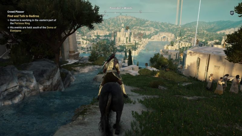 ac odyssey - crowd pleaser guide tips