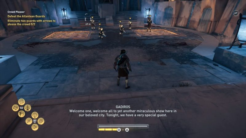 ac odyssey - crowd pleaser quest guide