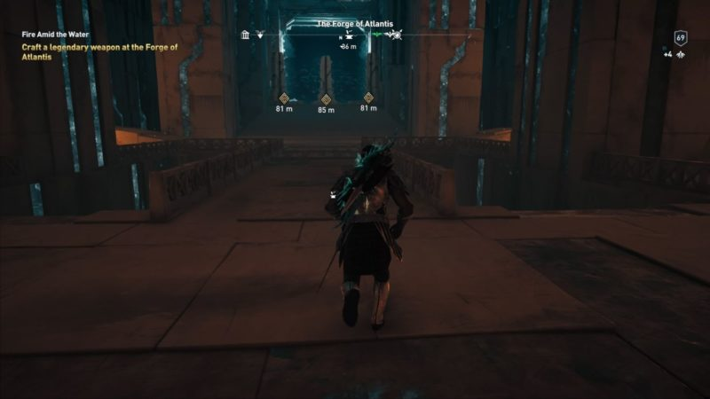 ac odyssey - fire amid the water tips