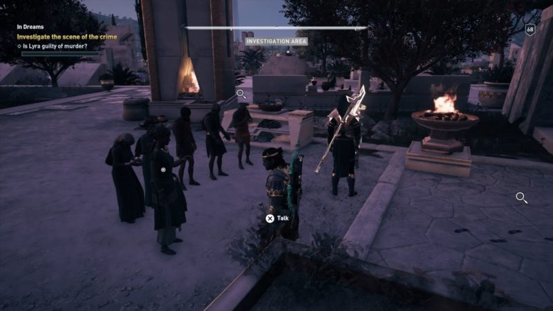 ac odyssey - in dreams mission guide