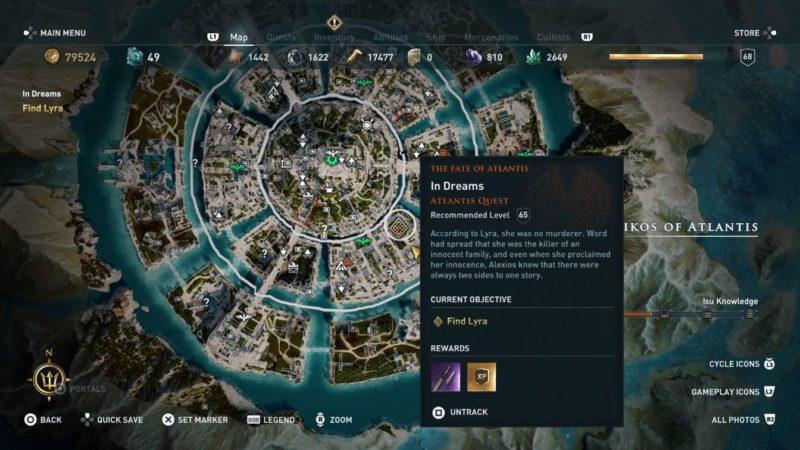 In Dreams: Assassin's Creed Odyssey Walkthrough - Ordinary Reviews