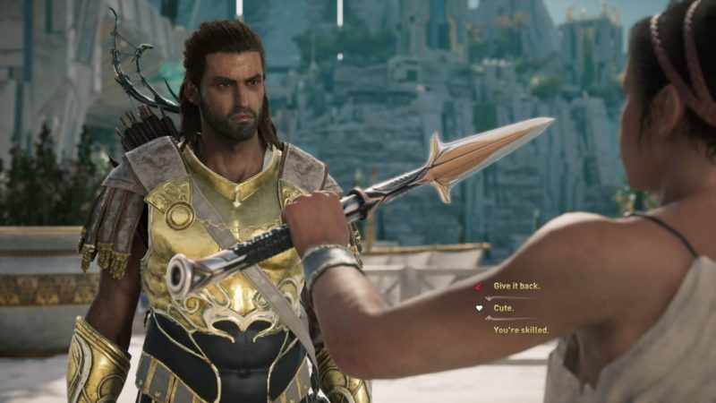ac odyssey - most adamantly quest