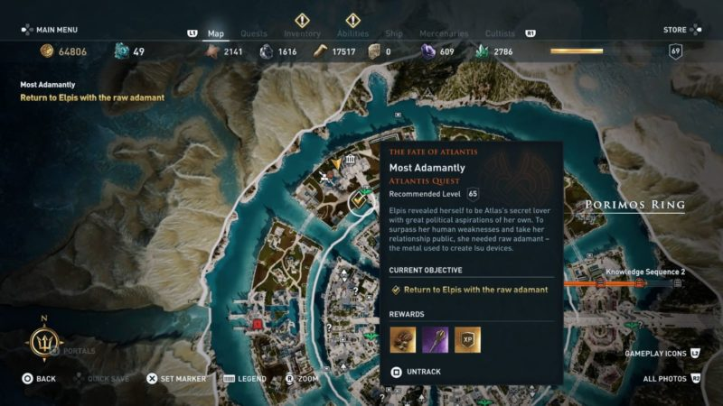 ac odyssey - most adamantly wiki