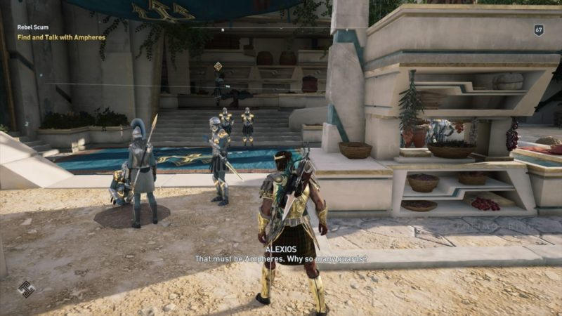 ac odyssey - rebel scum guide tips