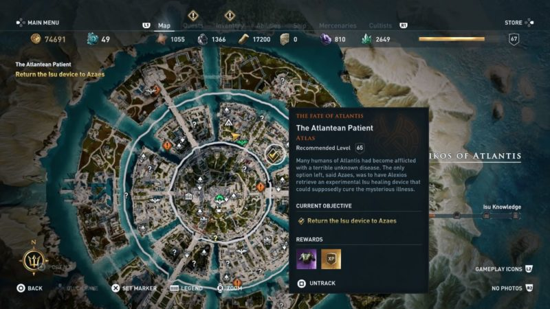 ac odyssey - the atlantean patient wiki