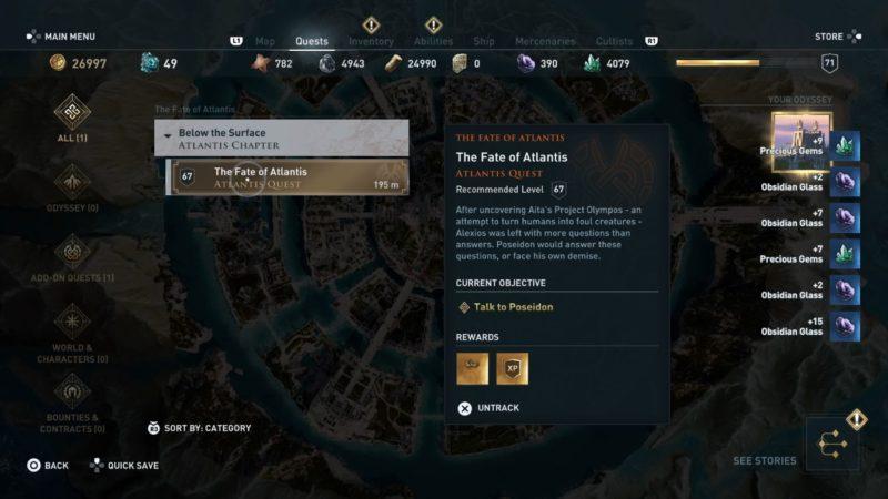 ac odyssey - the fate of atlantis