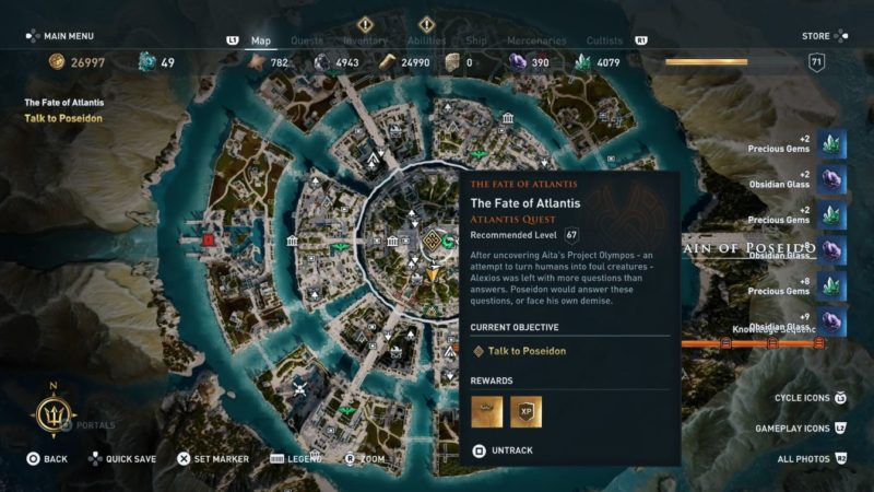 The Fate Of Atlantis Final Boss Assassin S Creed Odyssey Guide