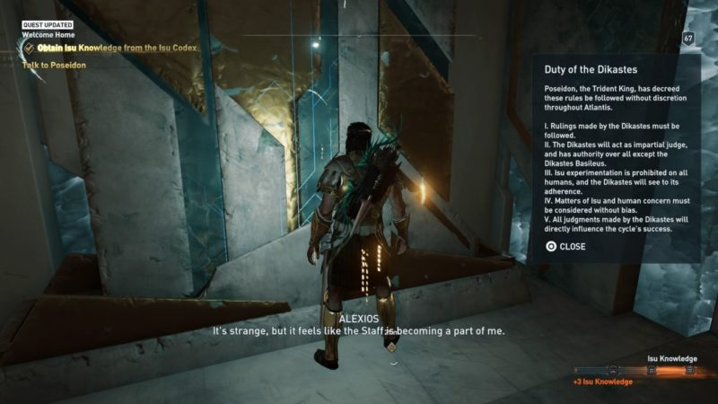 ac odyssey - welcome home quest wiki