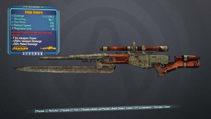 best bl2 guns