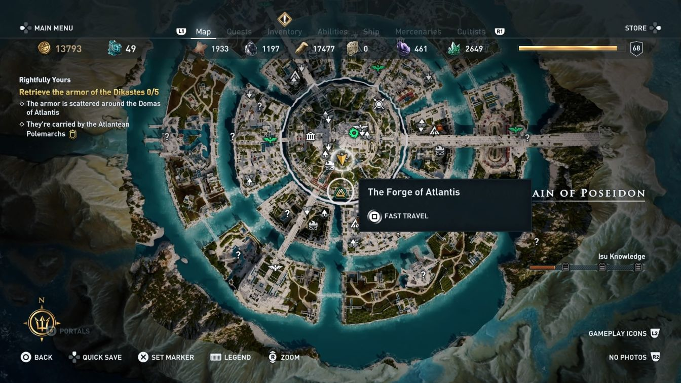Where Is The Blacksmith In Atlantis Ac Odyssey Wiki