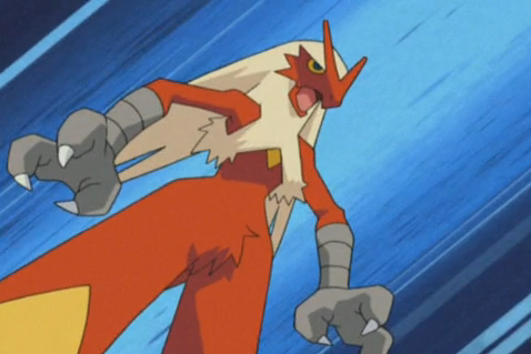 blaziken - strongest non legendary pokemon
