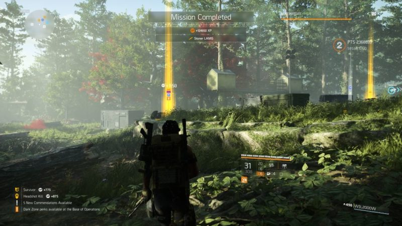 camp white oak - the division 2 tips