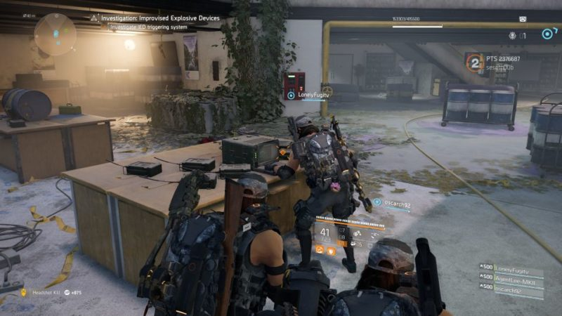 division 2 - kenly library - improvised explosive device guide tips