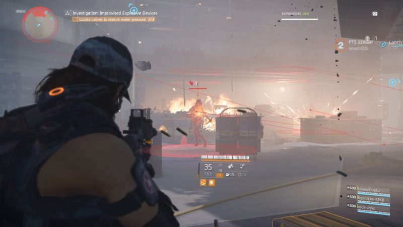 division 2 - kenly library - improvised explosive device quest