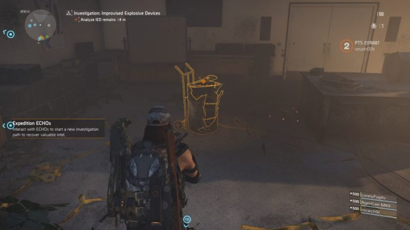 division 2 - kenly library - improvised explosive device wiki