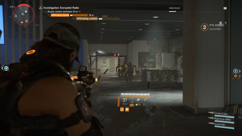division 2 - kenly library - secure radio handset expedition walkthrough