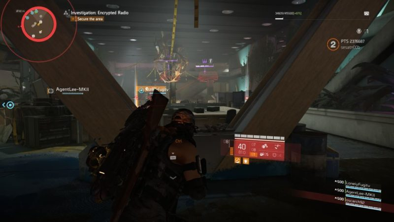 division 2 - kenly library - secure radio handset guide