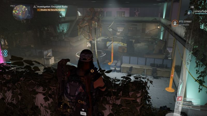 division 2 - kenly library - secure radio handset guide tips