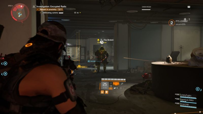 division 2 - kenly library - secure radio handset wiki