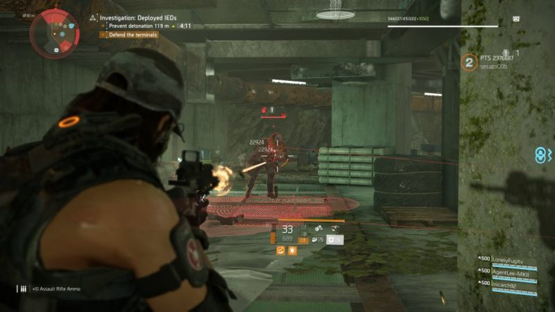 division 2 - kenly metro station - deployed ieds expedition