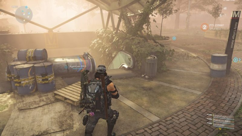division 2 - kenly metro station - deployed ieds guide