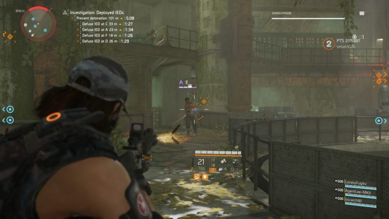 division 2 - kenly metro station - deployed ieds mission objective