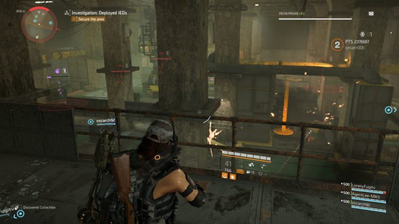 division 2 - kenly metro station - deployed ieds quest wiki