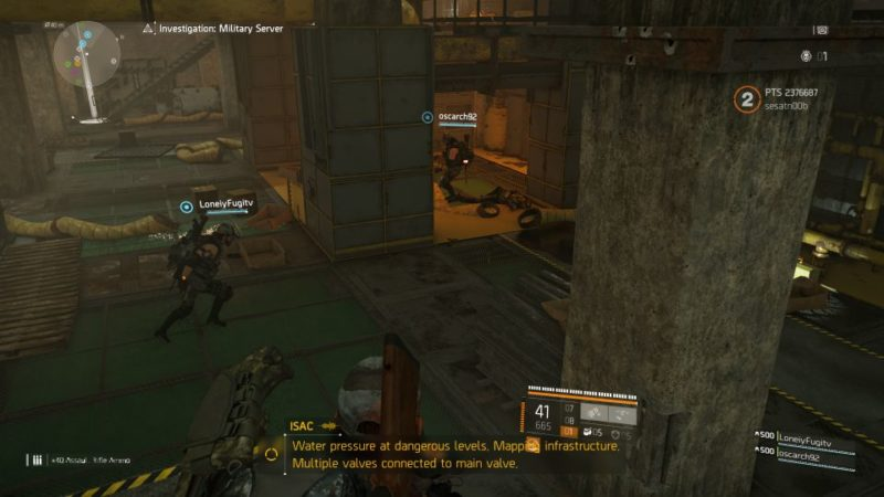 division 2 - kenly metro station - deployed military server expedition