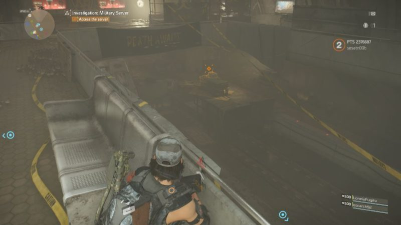 division 2 - kenly metro station - deployed military server guide