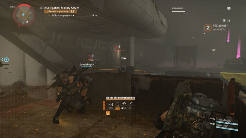 division 2 - kenly metro station - deployed military server guide tips