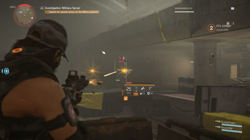 division 2 - kenly metro station - deployed military server guide wiki