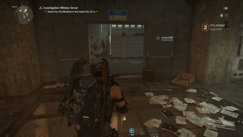 division 2 - kenly metro station - deployed military server mission