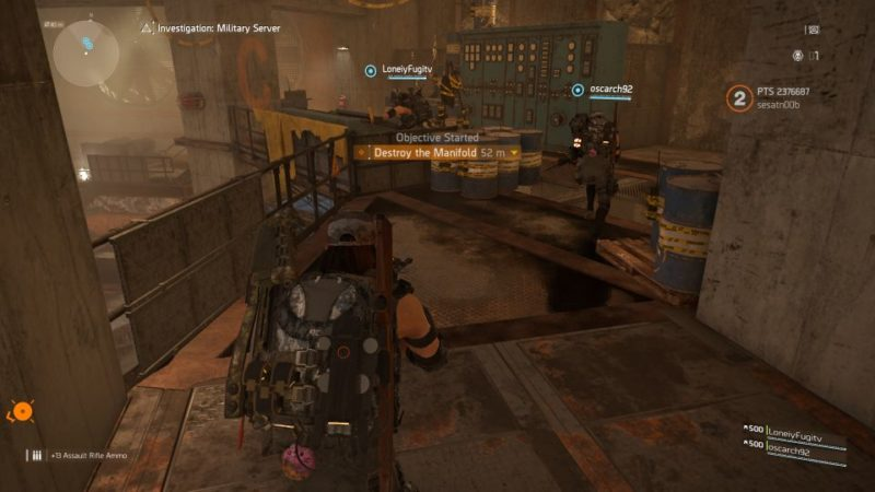 division 2 - kenly metro station - deployed military server mission guide